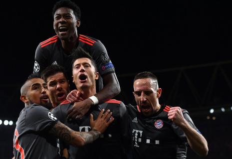 «Бавария» вновь забила в ворота «Арсенала» пять мячей