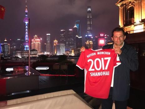 «Бавария» будет готовиться к новому сезону в Китае и Сингапуре