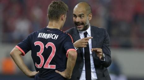 Гвардиола хочет видеть Киммиха в «Манчестер Сити»